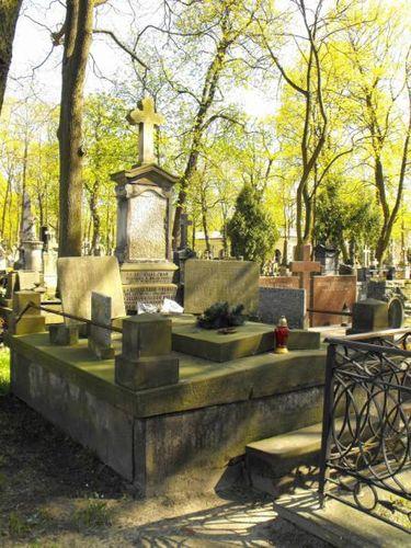 Grobowiec Wolańskich na cm. Powązkowskim