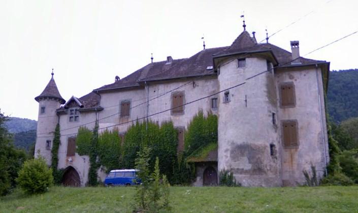 Château de Maugny nad Jeziorem Genewskim