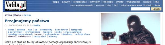 VaGla.pl 2008: Przejmujemy państwo